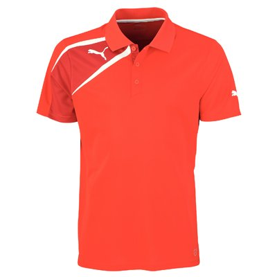 Puma Spirit Mens Training Polo Tee Shirt Red Size XXL by Puma