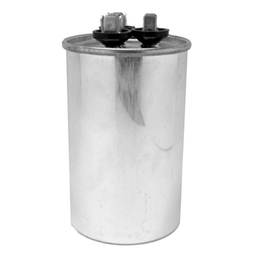 Capacitor 60+5 Mfd 440 Vac Round Onetrip Parts® Replacement For Rheem Ruud Weatherking 43-25133-30 front-528589