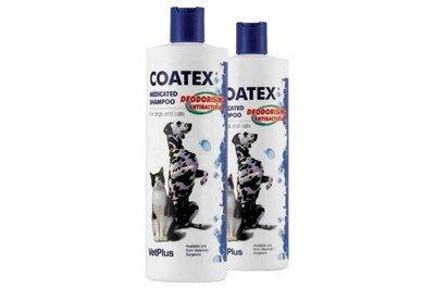 Coatex Medicated Shampoo 500ml Cats Dogs