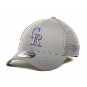 MLB Colorado Rockies Flex Fit Cap, Gray Neo, Medium/Large at Amazon.com