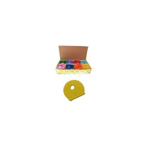 Coprichiavi PLASTICA TONDI MIX (Pezzi 800)