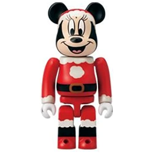 BE@RBRICK Special 오너먼트 복권(제비) × 디즈니 미니 마우스 산타ver 베어브릭 100%-