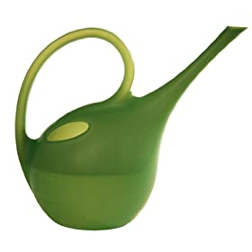 Plastec 1.4-Liter Green Watering Can WCGN
