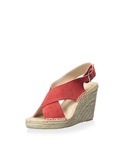 DV by Dolce Vita Women's Sovay Espadrille Sandal  [Coral]
