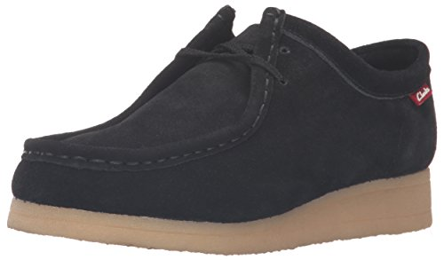 Clarks Women's Padmora Oxford, Black Suede, 8 M US
