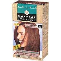 Clairol Natural Instincts Non-Permanent Color, Medium Auburn Brown 22