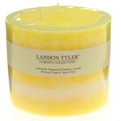 Multi Wick Citronella Candle - Yellow - 63-8227 by Alfresco