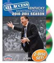 All Access Kentucky Basketball Practice (2010-11) with John Calipari (DVD) by Championship Productions