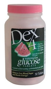Dex 4 Glucose Tablets-Watermelon 50ct.
