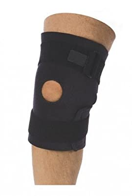 Neoprene Velcro Side Closure Knee Brace - Open Patella 10