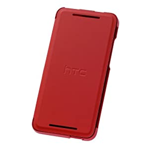 HTC 99H11286-00 One mini Flip Case mit Stand rot/insert retail blister
