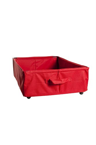 Farg Form Storage On Wheels (Low, Red)