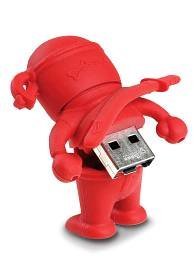 E-FILLIATE, INC, BONE Ninja USB Drive 4GB Red 