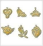 Disney Mini Brass Stencil Set PRINCESS BALL For Scrapbooking, Card Making & Craft Projects