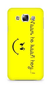 Amez designer printed 3d premium high quality back case cover for Samsung Galaxy E5 (Funny Quote)
