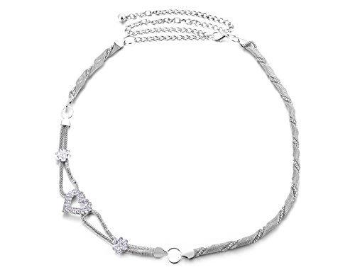 donna-argento-catenina-da-girovita-cintura-con-borchie-a-diamante-cuore-buckle-accessorio-alla-moda-
