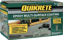 Quikrete Epoxy Multi-Surface Coating, GRAY MULTI-SURFACE EPOXY