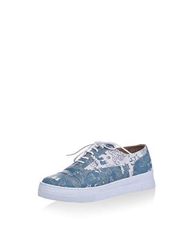 Los Ojo Zapatillas Winty Azul / Blanco