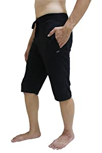 Men Yoga Shorts, Ideal for Any Yoga Style (Ashtanga, Bikram, Hot Yoga, Hatha),... by YogaAddict