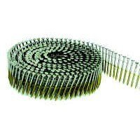 BOSTITCH C6R99BCG Thickcoat Round Head 2-Inch by .099-Inch by 15 Degree Ring Shank Coil Framing Nail (3,600 per Box)