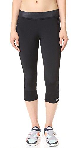 adidas by Stella McCartney Women's 3/4 Essential Leggings, Black, Medium