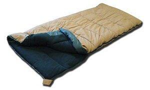 Black Pine Hunta'S +35 Degree Fleece Lined Canvas Sleeping Bag (Tan/Black) front-319313