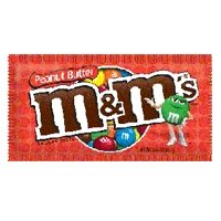 M&Ms Peanut Butter Chocolate Candy - 24 Bags