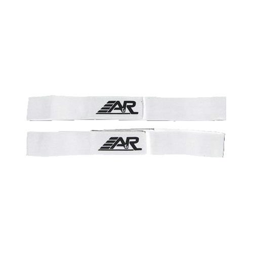 A&R Sports Shin Straps, Junior, White