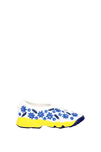 sneakers-christian-dior-women-fabric-white-blue-and-yellow-kck107brws010-white-35uk