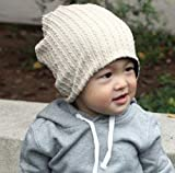 GOYESTORE(TM) Fashion Cute boy girl Trendy Baby Toddler child Hat Knit Beanie Warm Winter cap (Beige)