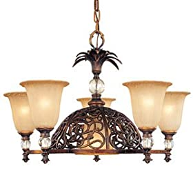Gazebo Chandelier by Corbett Lighting