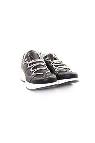 Fornarina sneakers colore nero con zeppa bianca taglia 40