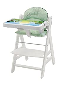 Amazon Com Leap Frog Alpha Interactive High Chair White