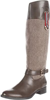 Tommy Hilfiger Women's Cup Riding Boot,Dingo/Iroko,5 M US