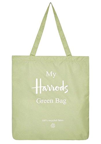 英国 Harrods(ハロッズ) My Harrods Green Bag 軽量 リサイクル 買物バッグ [並行輸入品]