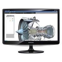 """Samsung SyncMaster B2030 - LCD display - TFT - 20"""" - widescreen - 1600 x 900 - 250 cd/m2 - 1000:1 - 50000:1 (dynamic) - 5 ms - DVI-D, VGA - high glossy black - B2030 20IN LCD MON 1600X900 BLK"""