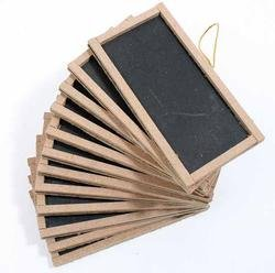 "12 Mini Chalkboards 2""X4""- For Wedding Place Cards Party Favors, & Crafts"