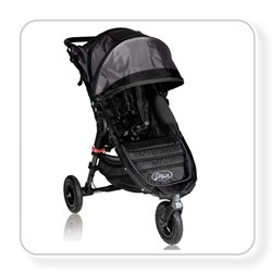 Baby Jogger City Mini Gt Single Stroller - Black/Shadow front-917988