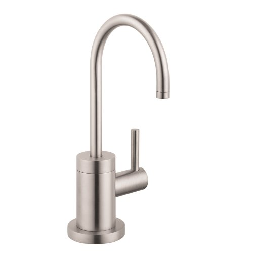 Hansgrohe 04301800 S Beverage Faucet, Steel Optik (Beverage Faucet Dispenser compare prices)