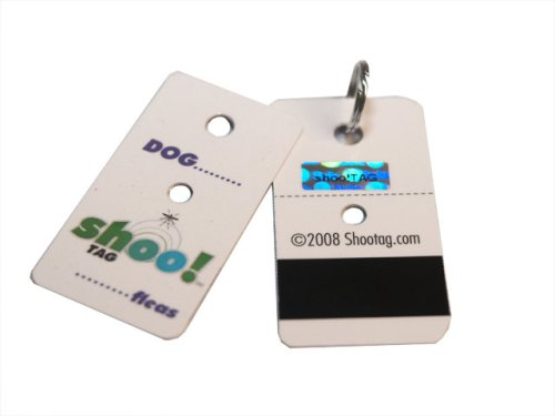 Shoo!TAG Flea and Tick Barrier Tag for Dogs,