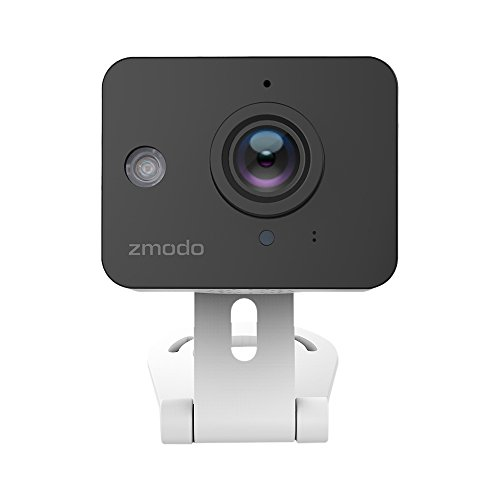 Zmodo ZM-SH75D001-WA 720p HD Mini WiFi Camera with Two-way Audio and Remote Monitoring