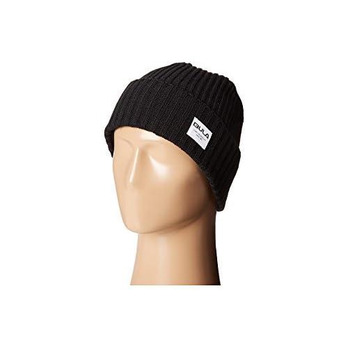[ブラ] BULA メンズ Leo Beanie 帽子 Black [並行輸入品]