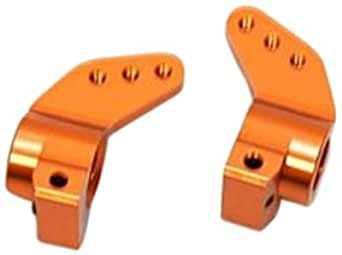 ST Racing Concepts STH103329O Aluminum Precision Rear Hub Carriers for The HPI Blitz and E-Firestorm (1 Pair), Orange