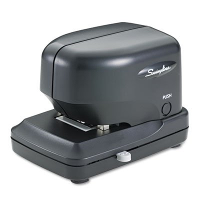 """Swingline Products - Swingline - 690E High-Volume Electric Stapler, 30 Sheet Capacity, Black - Sold As 1 Each - Delivers Speed And Exceptional Stamina. - Patented Cartridge Technology Delivers 5,000 Staples Without Reloading. - Adjustable 1"""" Throat Depth"""