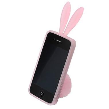 rabito for iPhone4 アイフォン4専用ケース&フォンスタンド [ ライトピンク ]