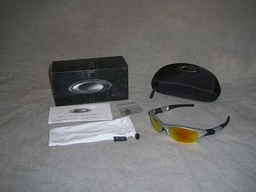 Oakley Half Jacket Fire Iridium Lenses