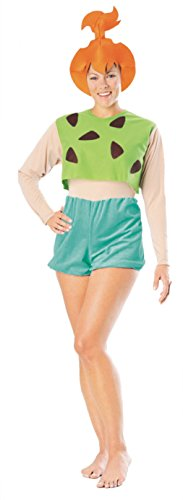 Rubies Womens Flintstones Pebbles Theme Party Fancy Halloween Cartoon Costume