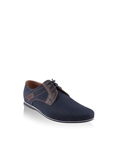 MYS Zapatos derby Azul Marino