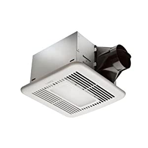hampton bay 80 cfm ceiling exhaust fan with led light and nightlight review