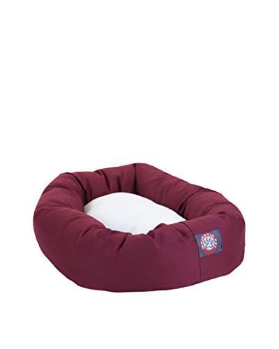 Majestic Pet Faux Sherpa Bagel Bed